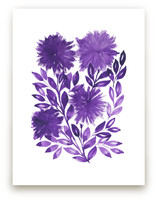 hand painted flowers_1L by aticnomar