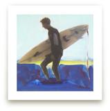 Wyatt, at Sunset by Annie Seaton