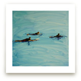 Paddling Out by Annie Seaton