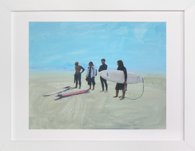 Surf Gang, Venice Beach  Art Print