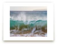 Hawaii Wave Break by Mary Ann Glynn-Tusa