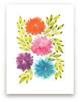 hand painted flowers_1K by aticnomar