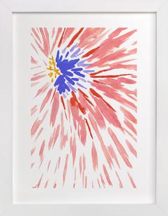 Burst Series #4  Art Print