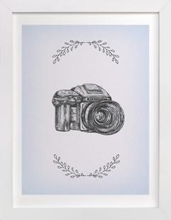Camera 7  Art Print
