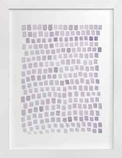 Lilac Modern  Art Print