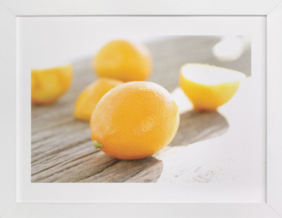 Bright Meyer Lemons  Art Print