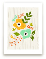 Woodland Wallflowers by Bethany Anderson