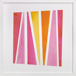 Safari Stripe  Art Print