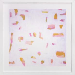 sunlit pinks  Art Print