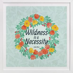 Wildness Floral  Art Print