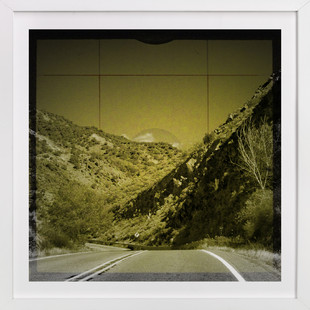 The Road We Travel Nine  Art Print