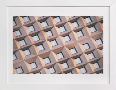Urban Palette - Muted Lines  Art Print