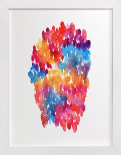 Color harmony  Art Print