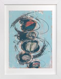 Blue Tchochke  Art Print