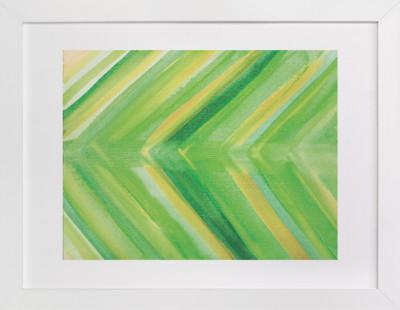 Crisp Greens  Art Print