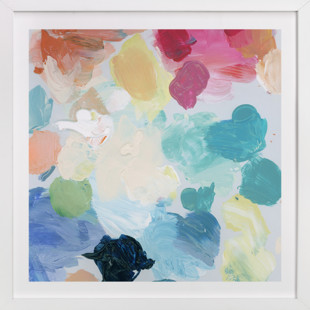 Palette 1  Art Print