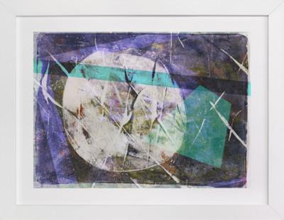Purple Composite  Art Print