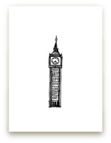 Big Ben London by Phrosné Ras