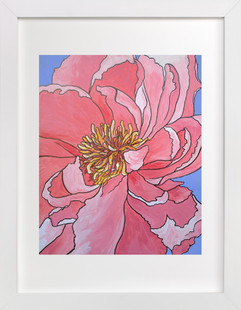A Single Bloom  Art Print