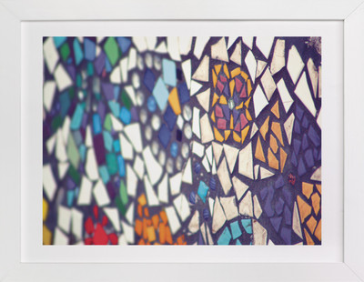 Brightly Mosaic  Art Print