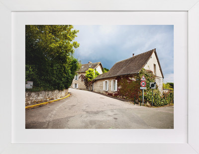Giverny Road  Art Print