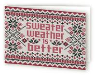 Sweater Weather by JaxRobyn