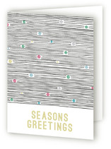 modern lights Holiday Cards