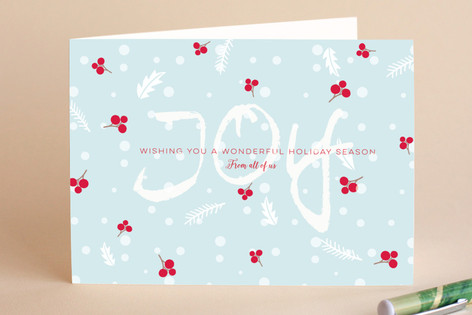 Joyful Berries Holiday Cards