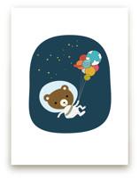 Astro Bear by Char-Lynn Griffiths