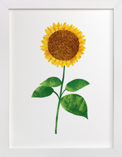 Hello, Sunflower! Self-Launch Children's Art Print