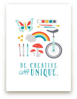 Be Creative and Unique by Katie Zimpel