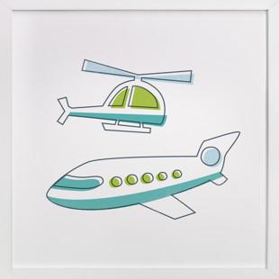 Fly It Self-Launch Children's Art Print