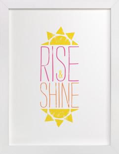 Good Morning Sunshine Self-Launch Children's Art Print