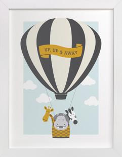 Beautiful Balloon Self-Launch Children's Art Print