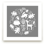 Woodland Wonder Print by JeAnna Casper