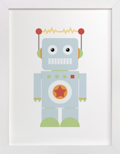 Starbot Self-Launch Children's Art Print