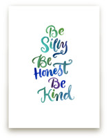 Be Silly by Laura Bolter Design