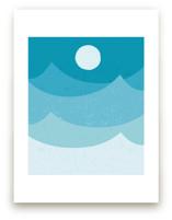 midnight ocean by Angela Thompson