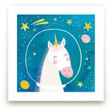 Space Unicorn by Stellax Creative