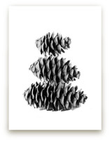 Stacked Pine Cones by Alexis Arnold