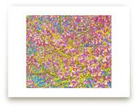Pink Blossom Grove by Mariecor Agravante