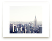 Empire State View by Caroline Mint