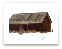Abandoned Barn by Leslie Le Coq