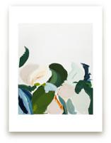 Garden Botanical Abstra... by Caryn Owen