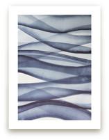Waves in Blue by Karen Kardatzke