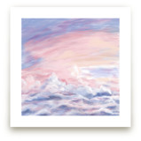 Dreamy Clouds Squared by Janelle Wourms