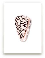 Modern Marble Cone Shel... by Artsy Canvas Girl Designs