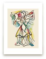 Movement VI, Figurative... by Kathleen Ney