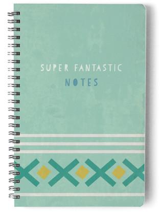 Crisscross Self-Launch Notebook