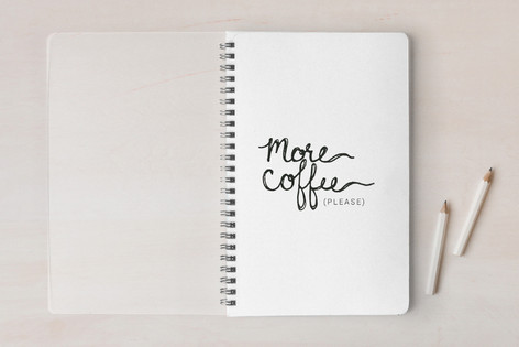 More Coffee Please! Notebooks
